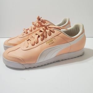 Puma Roma Peach color size 8.5